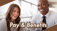 A listing of pay and benefits for City employees